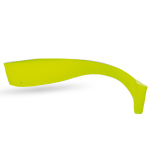WIZARD ENERGY SHAD 5' CHARTREUSE
